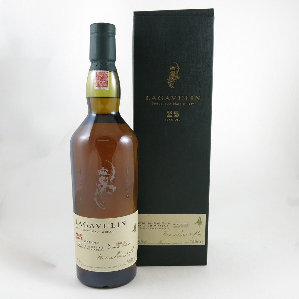 Lagavulin 25 Year Old front