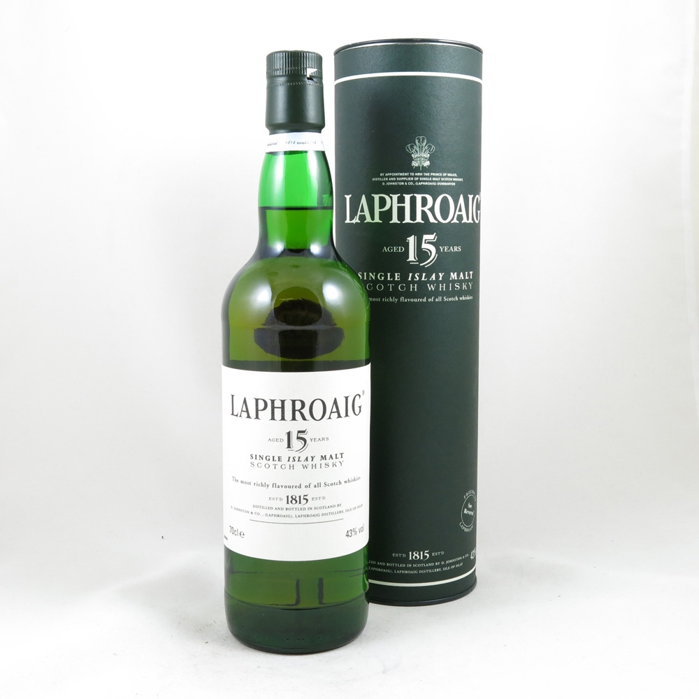 Laphroaig 15 Year Old Front