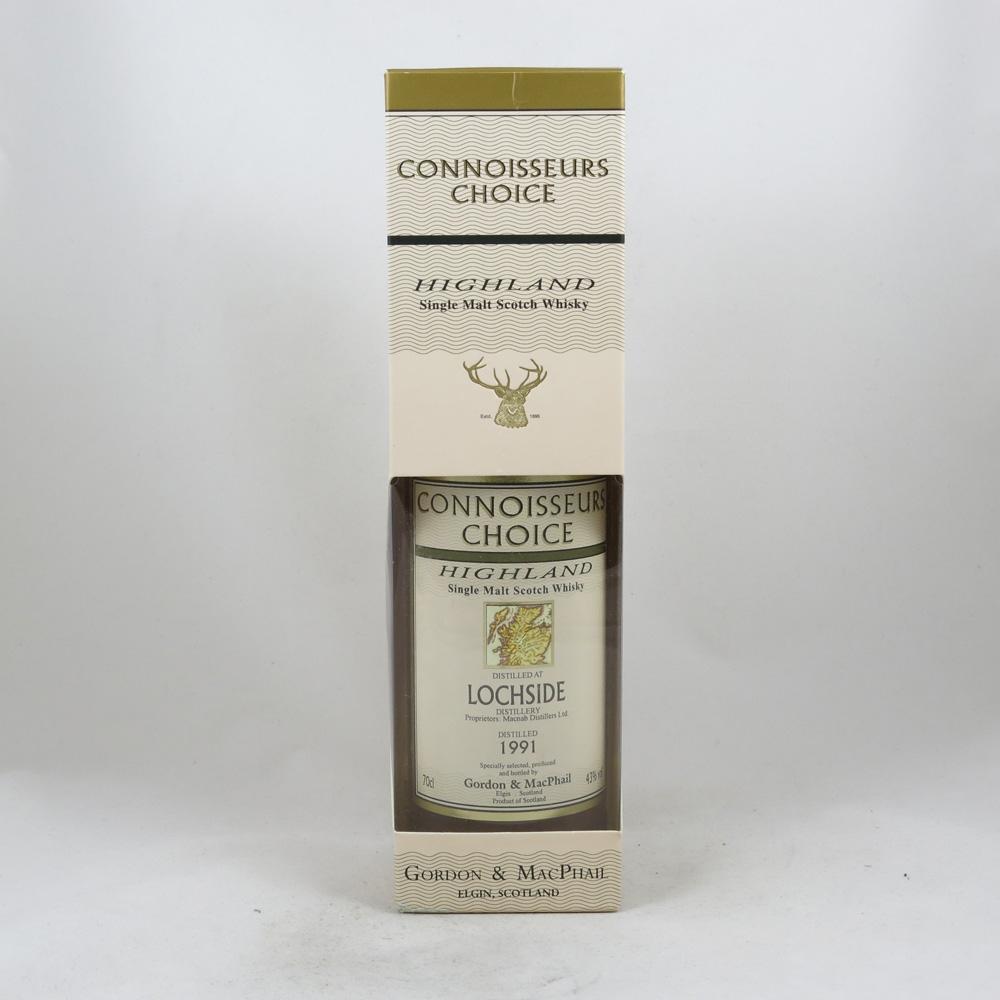 Lochside 1991 Gordon and Macphail 15 Year Old box