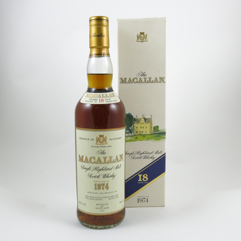 Macallan 1974 18 Year Old front