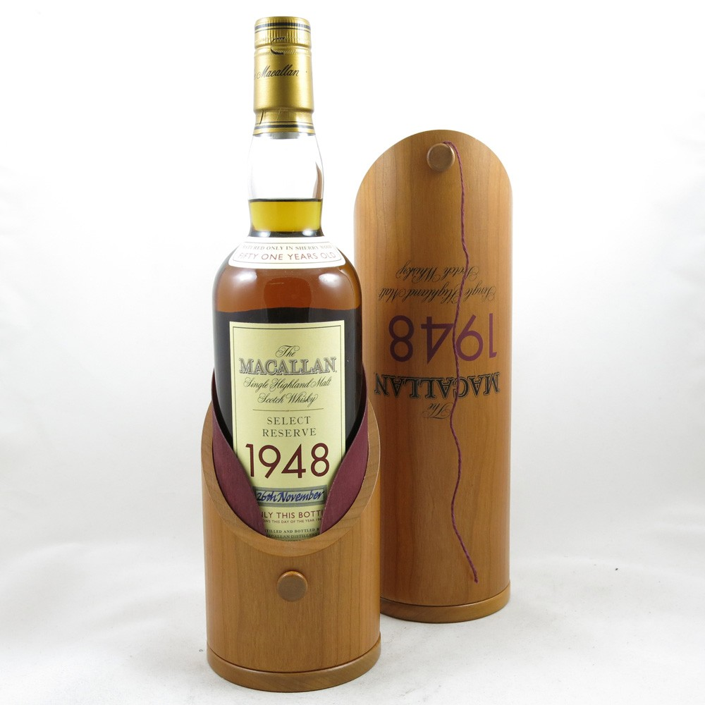 Macallan 1948 Select Reserve 51 Year Old (Including Miniature) in box