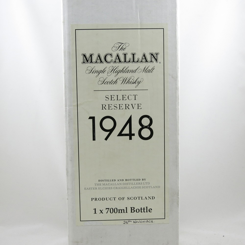 Macallan 1948 Select Reserve 51 Year Old (Including Miniature) book