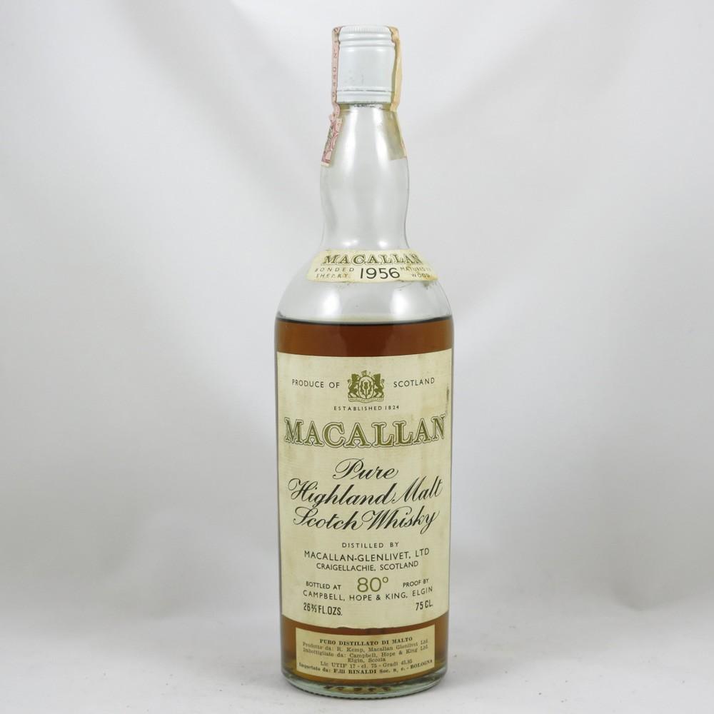 Macallan 1956 front