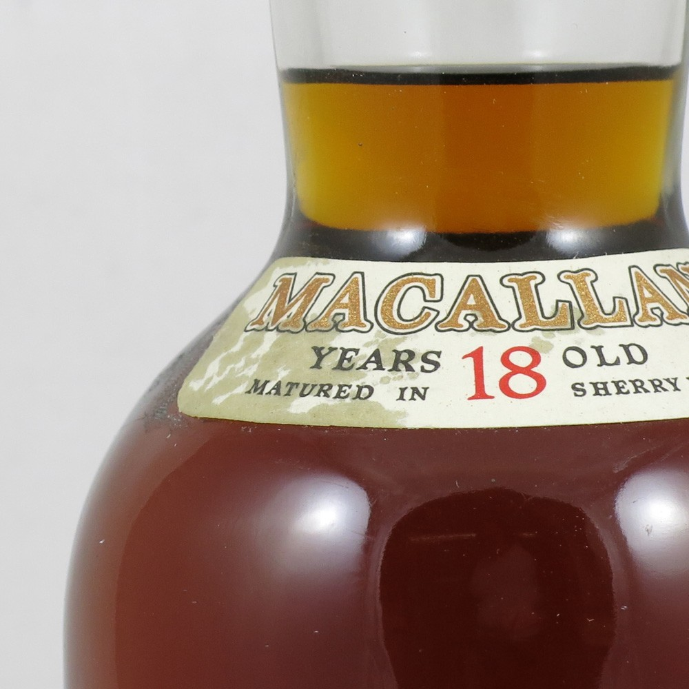 Macallan 1980 18 Year Old 75cl (US Import) Label
