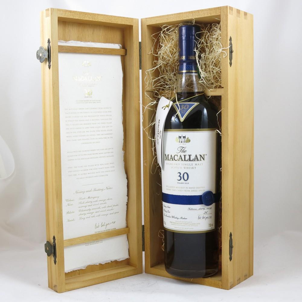 Macallan 30 Year Old Sherry Oak Open