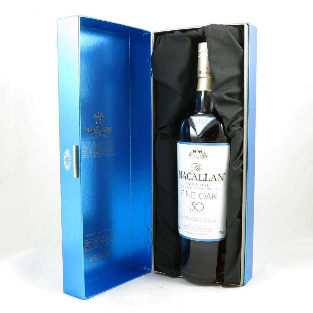 Macallan 30 Year Old Fine Oak boxed
