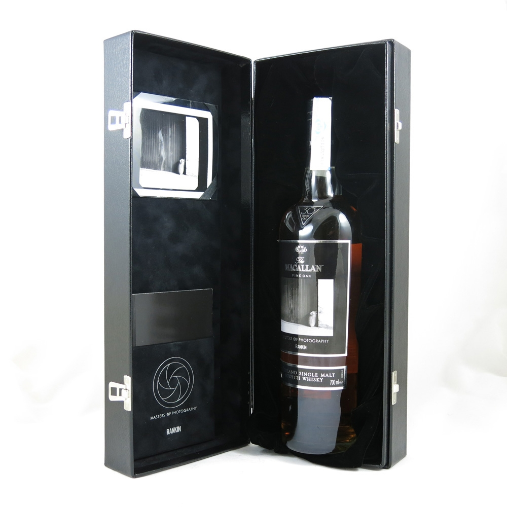 Macallan 30 Year Old Masters of Photography Rankin Edition boxed