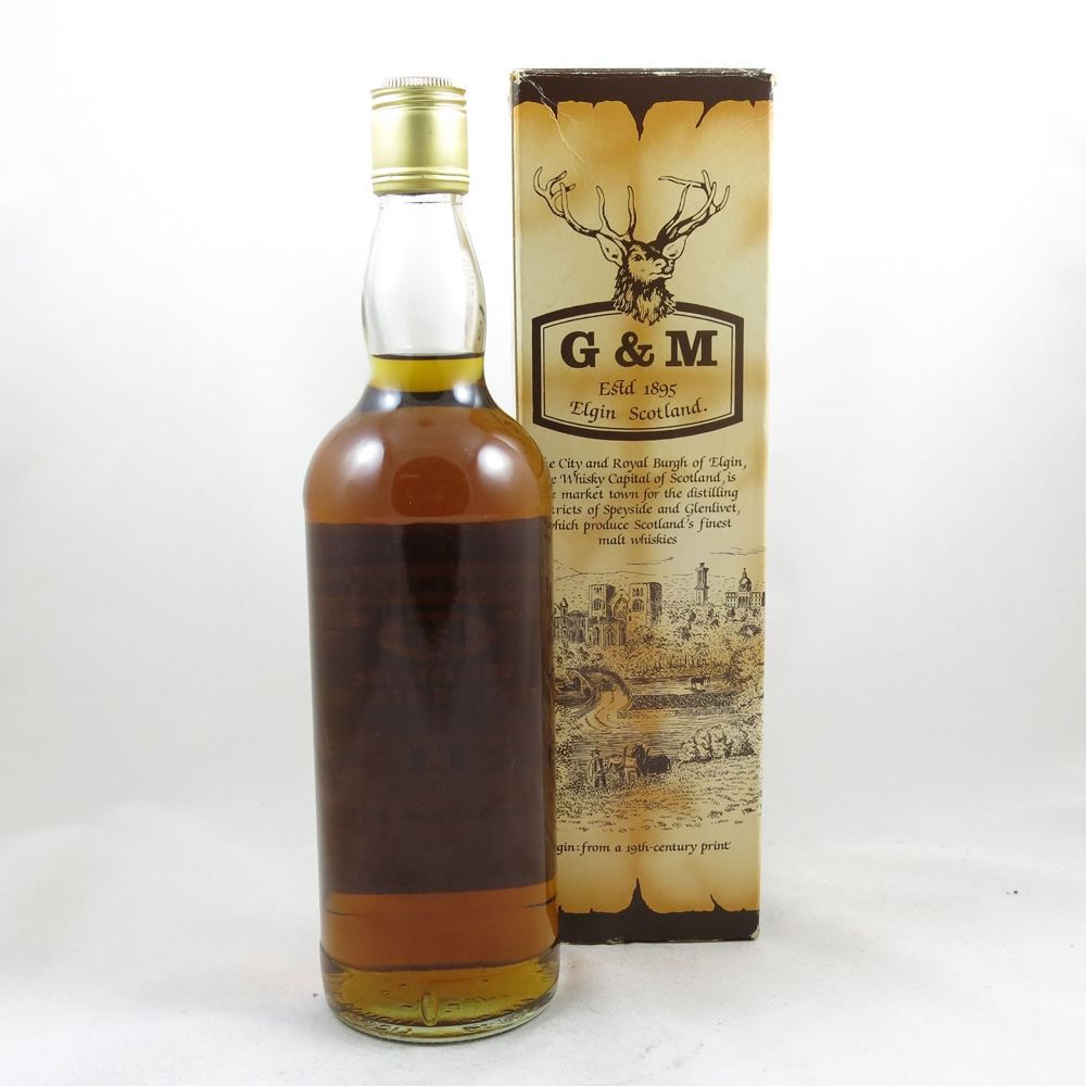 Mortlach 1936 Gordon and Macphail 45 Year Old Back