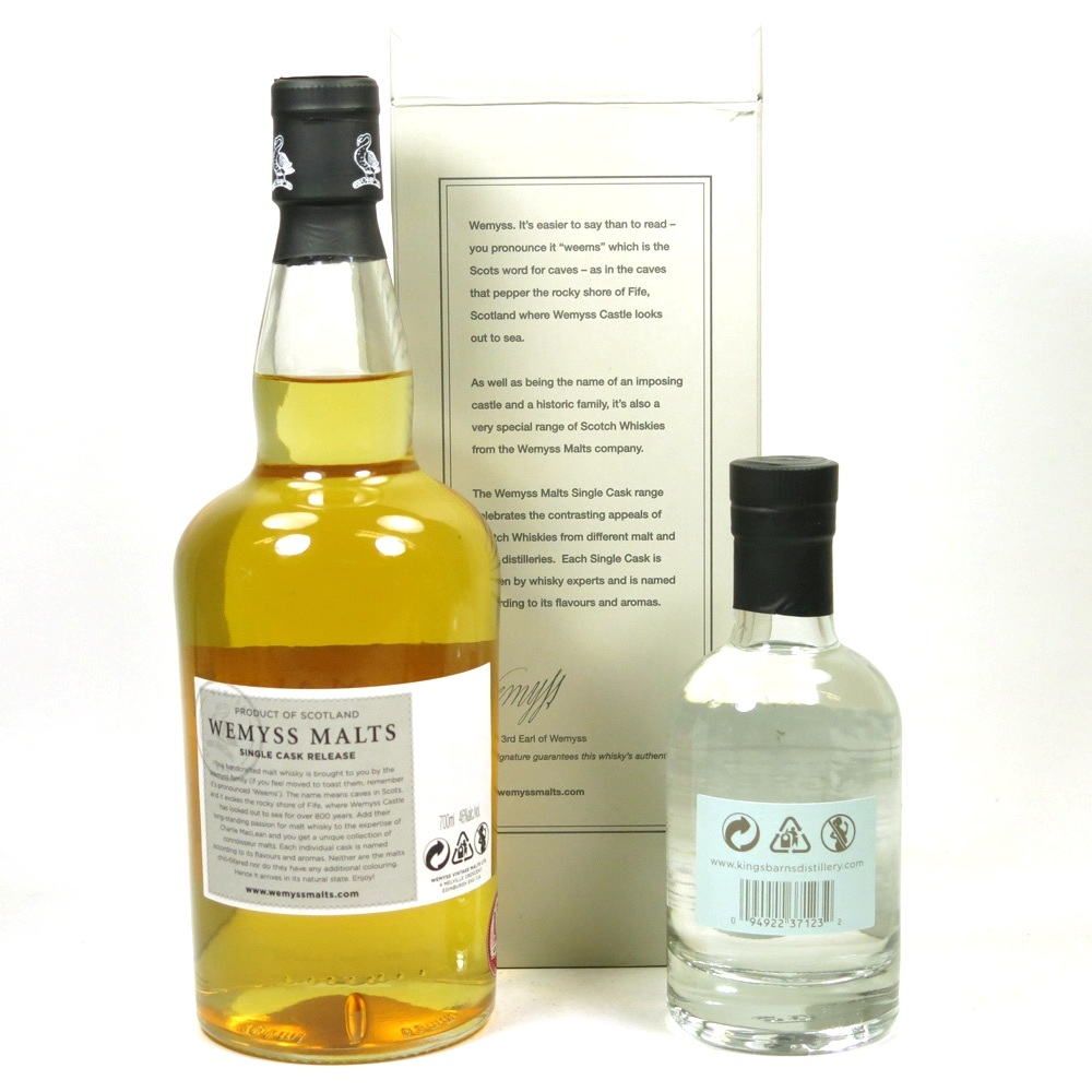 Blair Athol 1991 Wemyss and Kingsbarns Spirit Drink 70cl and 20cl