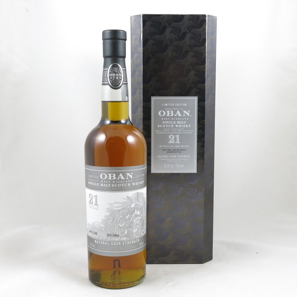 Oban 21 Year Old front