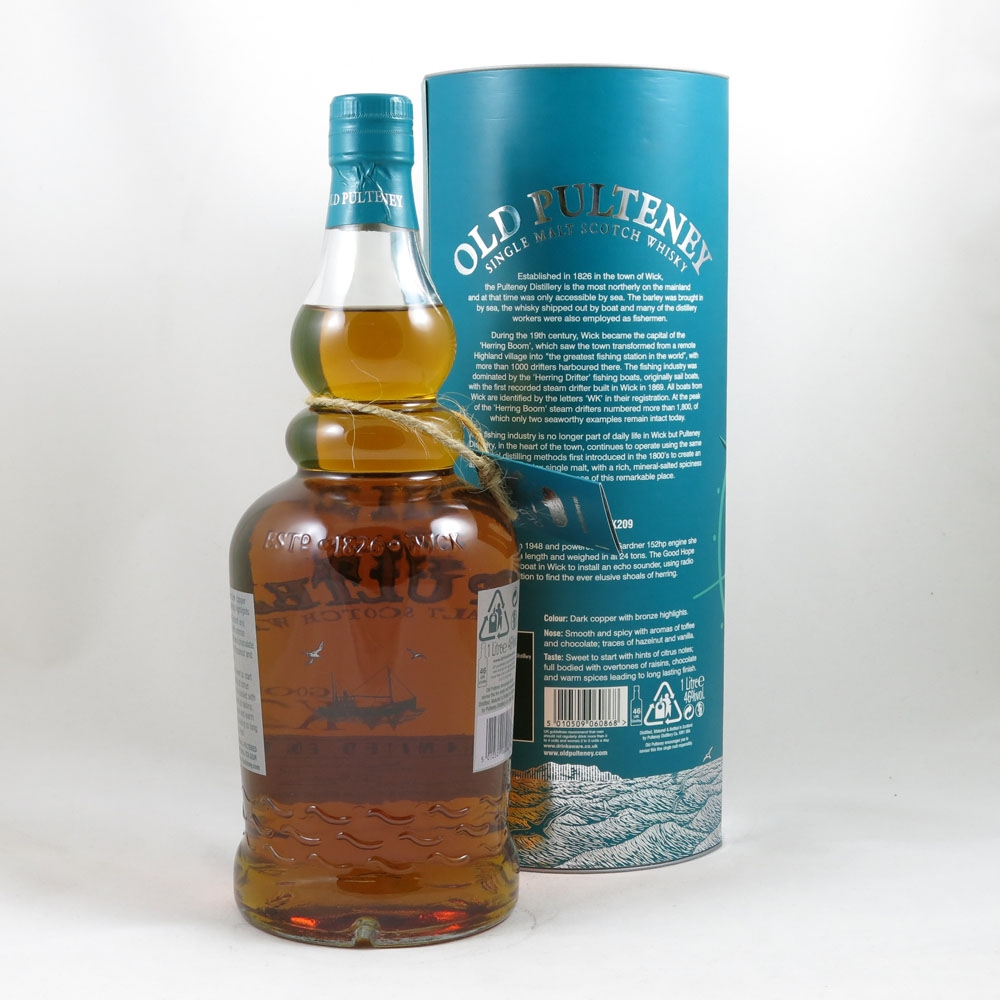 Old Pulteney WK 209 Good Hope back