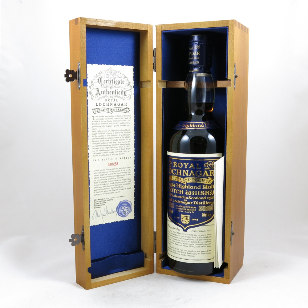 Royal Lochnagar Selected Reserve box