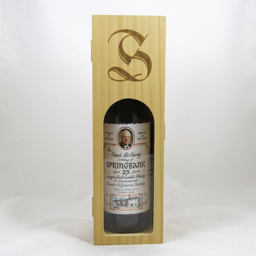 Springbank 25 Year Old Frank McHardy 40 Years in Distilling in box