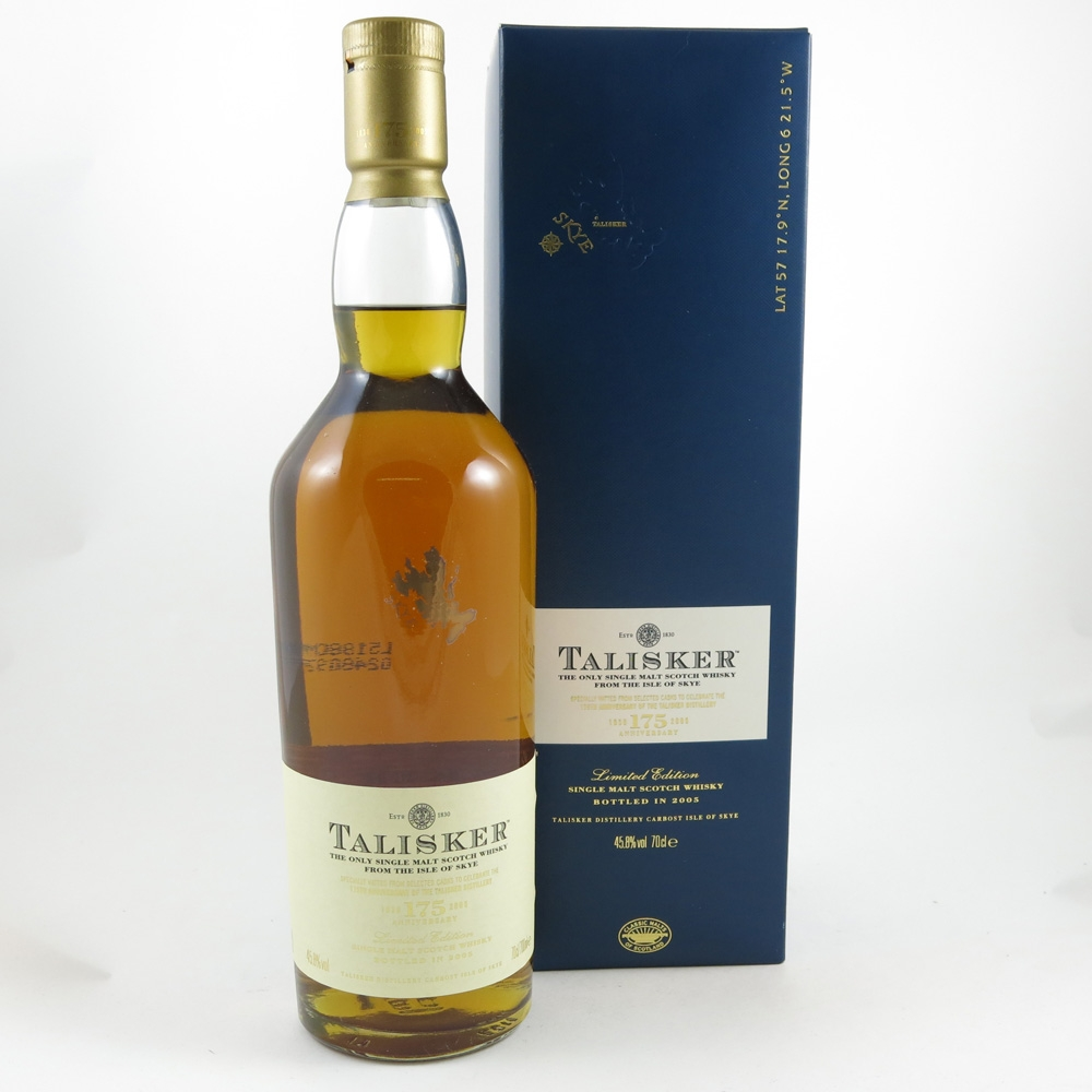 Talisker 175 Anniversary 2005 with Flag front