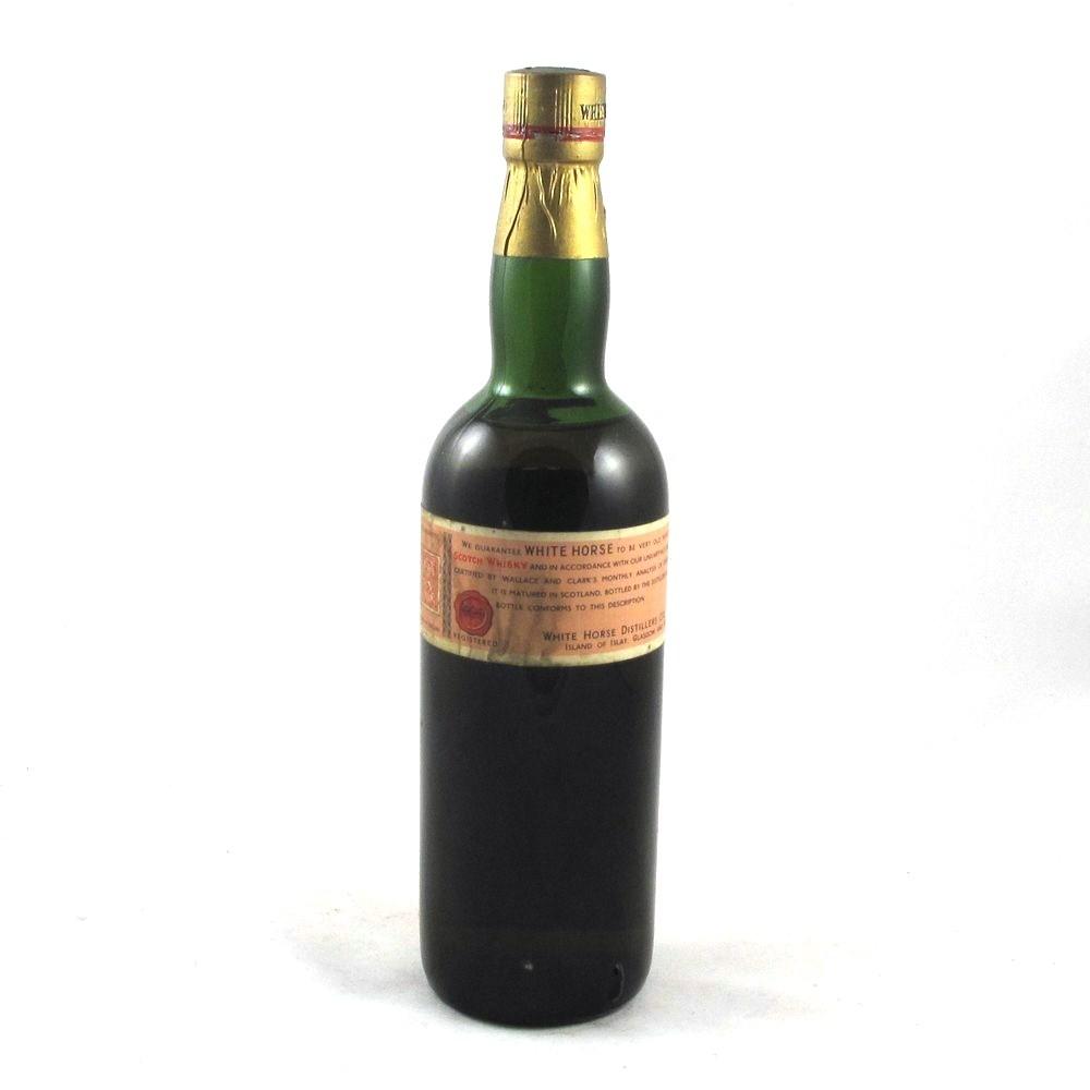 White Horse Bottled 1959 Back