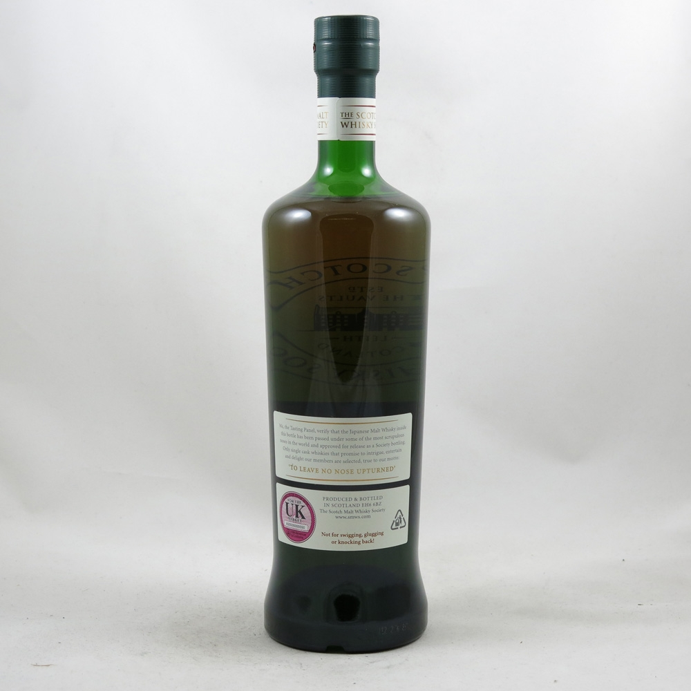Yoichi 1994 SMWS 116.18 18 Year Old back