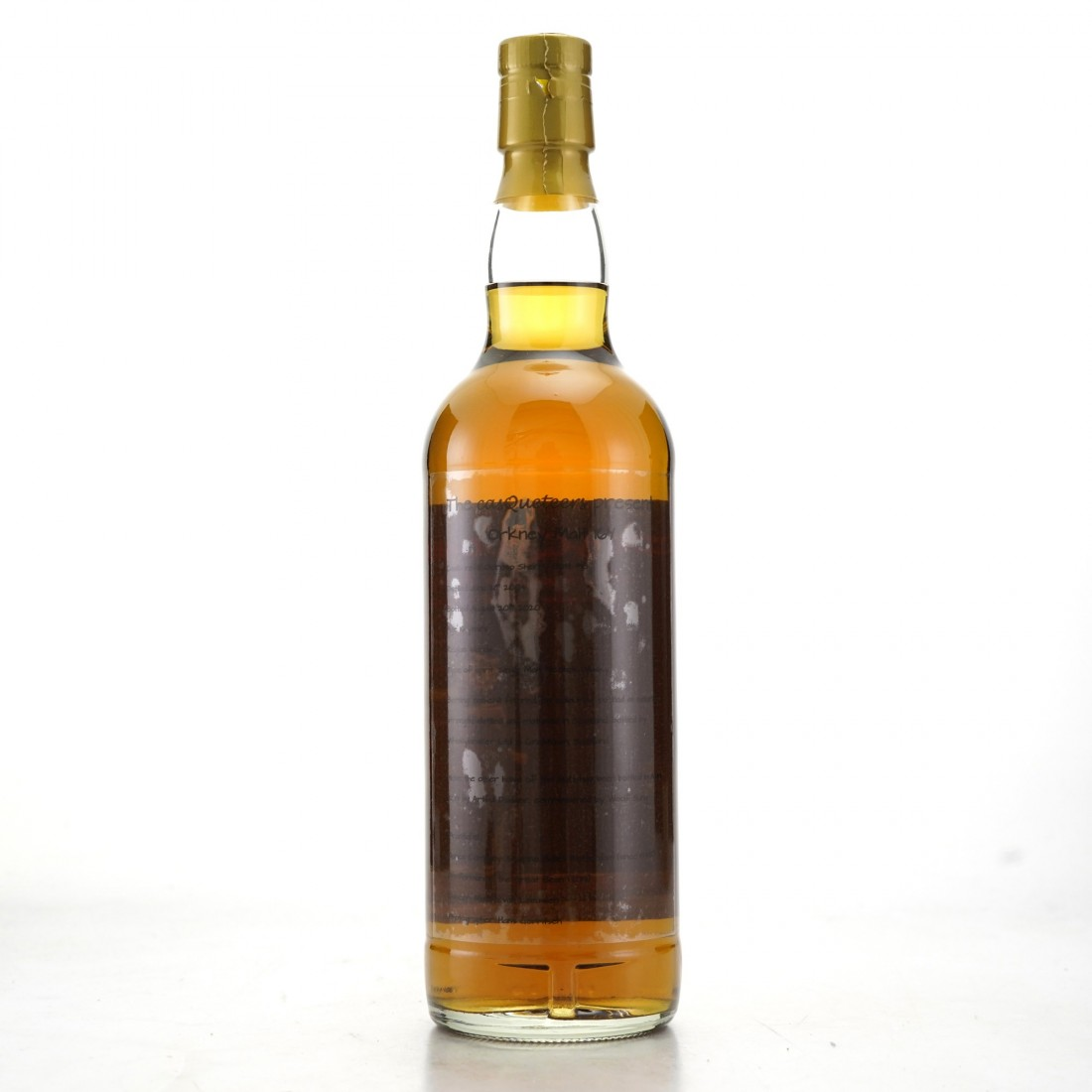 Orkney Malt 2004 Casqueteers 16 Year Old