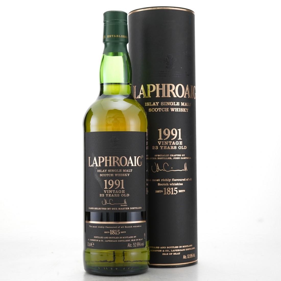 Laphroaig 1991 Vintage 23 Year Old / Germany
