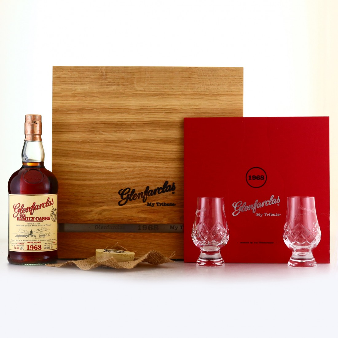 Glenfarclas 1968 Family Cask #5421 / My Tribute - Selected by Luc Timmermans