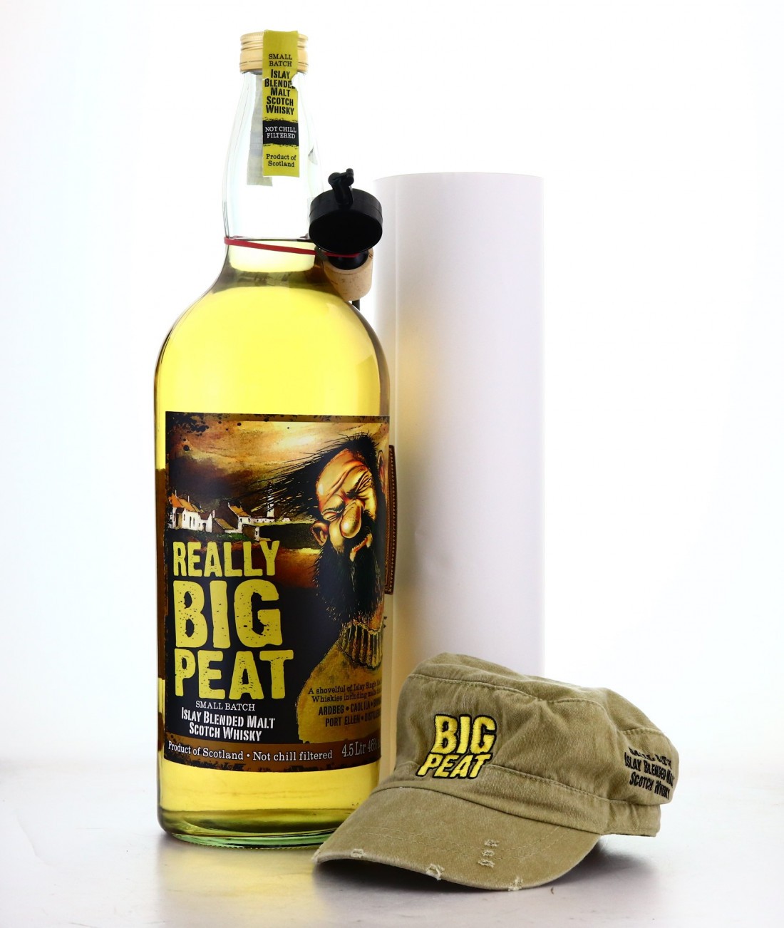 Big Peat Small Batch 4.5 Litre / Includes Cap & Map of Scotland