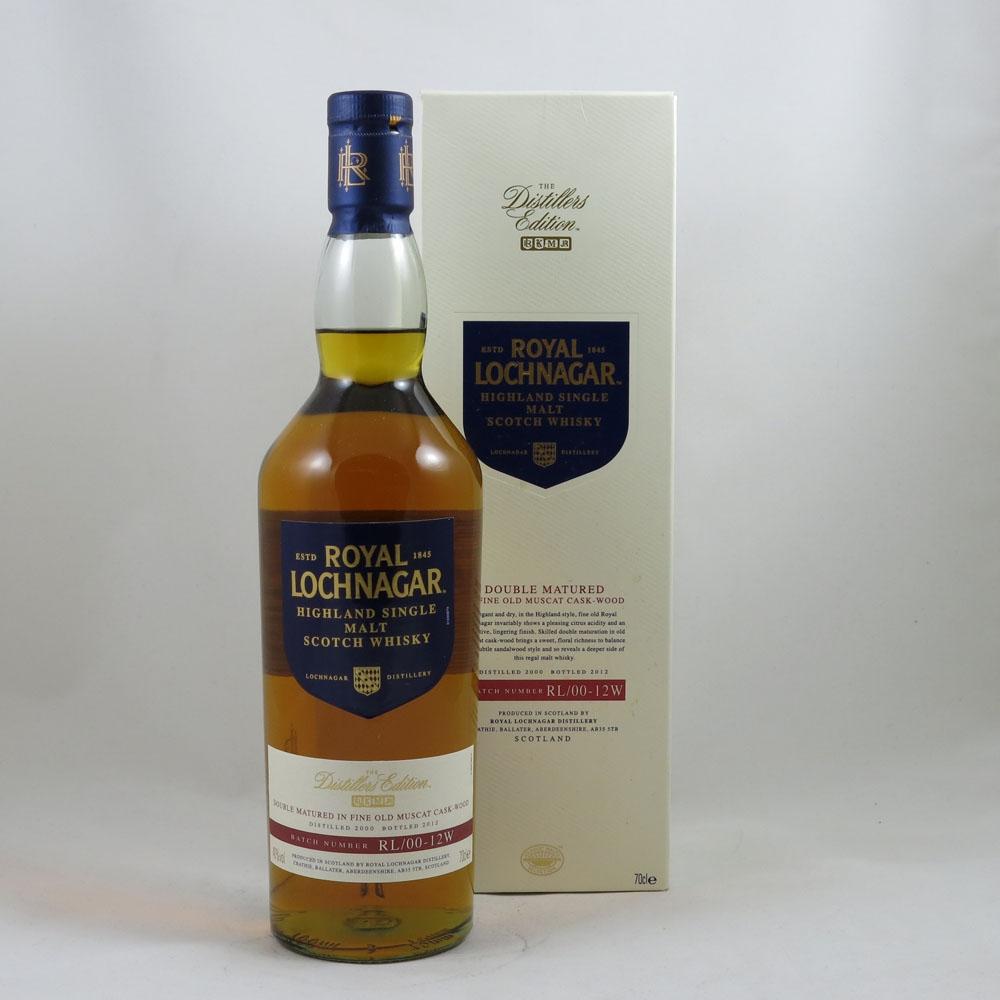 Royal Lochnagar 2000 Distillers Edition 2013 front